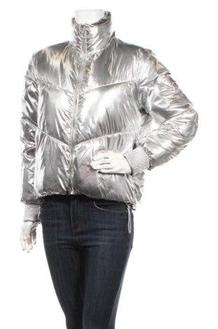 Γυναικείο μπουφάν Guess, Μέγεθος XS, Χρώμα Ασημί, Πολυαμίδη, Τιμή 159,28€