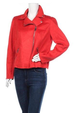 Γυναικείο μπουφάν H&M, Μέγεθος XL, Χρώμα Κόκκινο, 97% πολυεστέρας, 3% ελαστάνη, Τιμή 23,38€