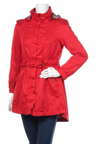 Γυναικείο μπουφάν H&M, Μέγεθος M, Χρώμα Κόκκινο, 64% πολυεστέρας, 36% βαμβάκι, Τιμή 24,68€