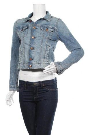 Γυναικείο μπουφάν H&M, Μέγεθος S, Χρώμα Μπλέ, 99% βαμβάκι, 1% ελαστάνη, Τιμή 23,38€