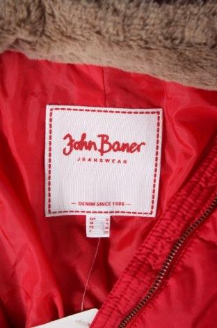 Дамско яке John Baner, Размер S, Цвят Червен, Полиамид, Цена 84,00лв.