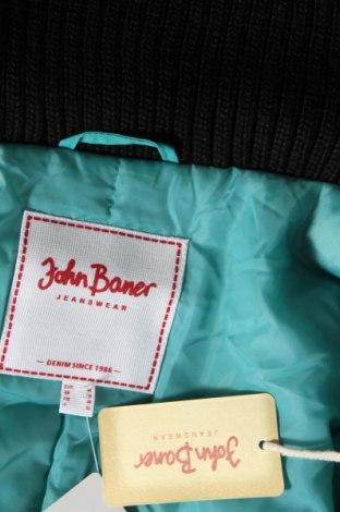 Дамско яке John Baner, Размер XL, Цвят Зелен, Полиамид, Цена 29,75лв.