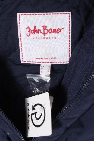 Дамско яке John Baner, Размер L, Цвят Син, 65% памук, 35% полиамид, Цена 41,44лв.