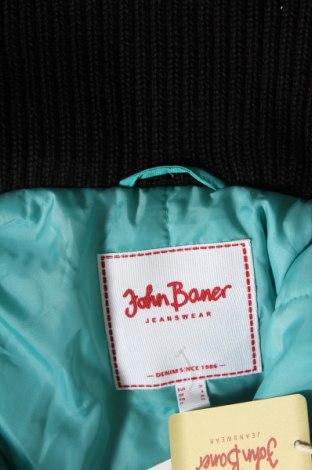 Дамско яке John Baner, Размер XS, Цвят Зелен, Полиамид, Цена 29,75лв.