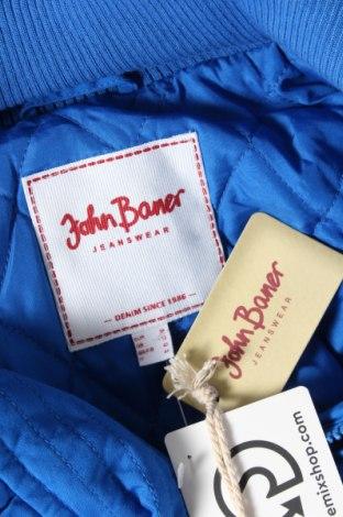 Дамско яке John Baner, Размер M, Цвят Син, 100% памук, Цена 27,37лв.