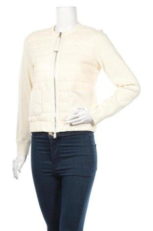 Kurtka damska Massimo Dutti, Rozmiar S, Kolor ecru, 60% bawełna, 40%akryl, Cena 208,25zł