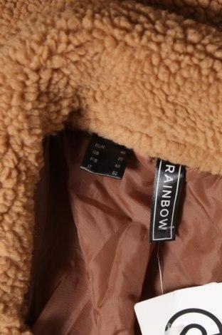 Дамско яке Rainbow, Размер XL, Цвят Кафяв, Полиестер, Цена 16,80лв.