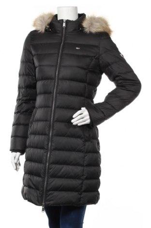 Γυναικείο μπουφάν Tommy Hilfiger, Μέγεθος M, Χρώμα Μαύρο, Πολυεστέρας, φτερά και πούπουλα, Τιμή 205,67€