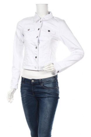 Γυναικείο μπουφάν Vero Moda, Μέγεθος XS, Χρώμα Λευκό, 63% βαμβάκι, 35% πολυεστέρας, 2% ελαστάνη, Τιμή 16,24€