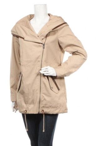 Γυναικείο μπουφάν Vero Moda, Μέγεθος M, Χρώμα  Μπέζ, 80% πολυεστέρας, 20% βαμβάκι, Τιμή 28,61€