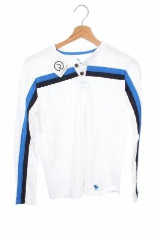 Παιδική μπλούζα Abercrombie Kids, Μέγεθος 13-14y/ 164-168 εκ., Χρώμα Λευκό, 60% βαμβάκι, 40% πολυεστέρας, Τιμή 17,28€