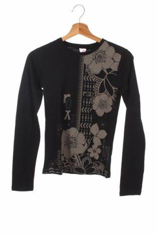 Dziecięca bluzka Roxy, Rozmiar 12-13y/ 158-164 cm, Kolor Czarny, Bawełna, Cena 81,90zł