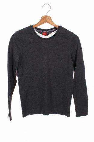 Παιδική μπλούζα S.Oliver, Μέγεθος 11-12y/ 152-158 εκ., Χρώμα Μαύρο, 80% βαμβάκι, 20% πολυεστέρας, Τιμή 11,72€