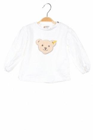 Παιδική μπλούζα Steiff, Μέγεθος 9-12m/ 74-80 εκ., Χρώμα Λευκό, 95% βαμβάκι, 5% ελαστάνη, Τιμή 13,15€