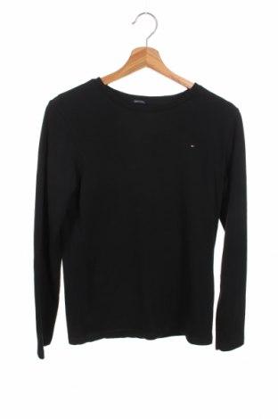 Παιδική μπλούζα Tommy Hilfiger, Μέγεθος 12-13y/ 158-164 εκ., Χρώμα Μαύρο, Βαμβάκι, Τιμή 23,97€