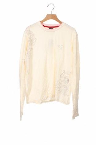 Παιδική μπλούζα Tommy Hilfiger, Μέγεθος 14-15y/ 168-170 εκ., Χρώμα Εκρού, 92% βαμβάκι, 8% ελαστάνη, Τιμή 15,43€