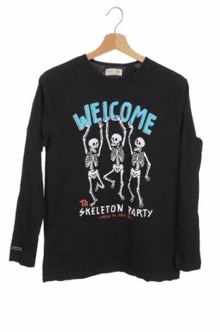 Παιδική μπλούζα Zara, Μέγεθος 12-13y/ 158-164 εκ., Χρώμα Μαύρο, 97% βαμβάκι, 3% ελαστάνη, Τιμή 10,52€