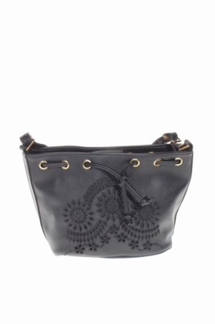 Дамска чанта Bpc Bonprix Collection, Цвят Черен, Еко кожа, Цена 31,50лв.