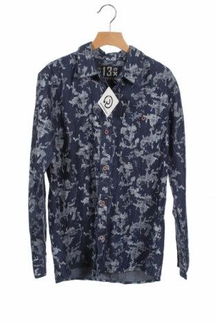 Παιδικό πουκάμισο DWG, Μέγεθος 15-18y/ 170-176 εκ., Χρώμα Μπλέ, Βαμβάκι, Τιμή 8,64€