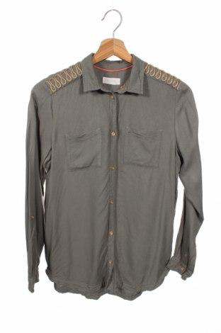 Παιδικό πουκάμισο H&M, Μέγεθος 12-13y/ 158-164 εκ., Χρώμα Πράσινο, Βισκόζη, Τιμή 10,49€