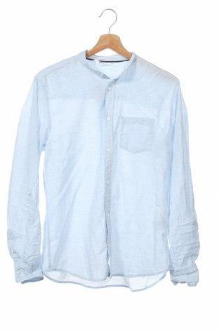 Dziecięca koszula H&M, Rozmiar 14-15y/ 168-170 cm, Kolor Niebieski, Bawełna, Cena 40,50zł