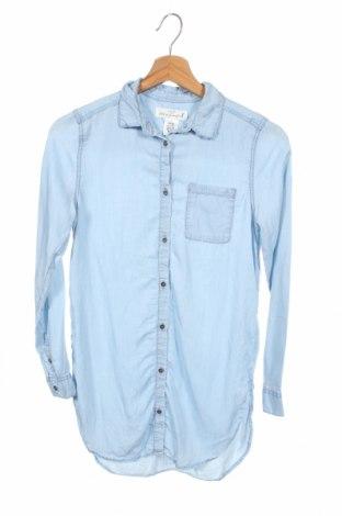 Παιδικό πουκάμισο H&M L.o.g.g, Μέγεθος 11-12y/ 152-158 εκ., Χρώμα Μπλέ, Lyocell, Τιμή 8,64€