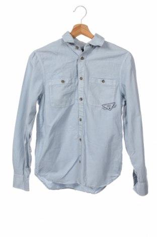 Παιδικό πουκάμισο H&M L.o.g.g, Μέγεθος 12-13y/ 158-164 εκ., Χρώμα Μπλέ, Βαμβάκι, Τιμή 20,36€