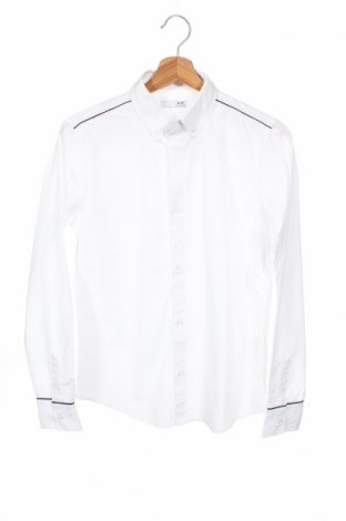 Παιδικό πουκάμισο La Halle, Μέγεθος 12-13y/ 158-164 εκ., Χρώμα Λευκό, 60% βαμβάκι, 40% πολυεστέρας, Τιμή 10,49€