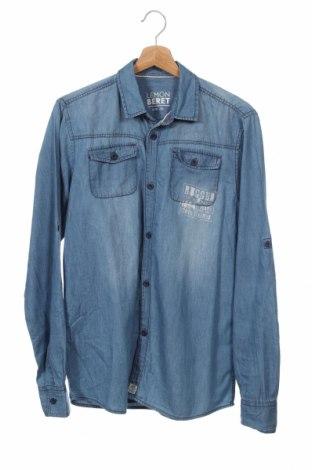 Dziecięca koszula Lemon Beret, Rozmiar 15-18y/ 170-176 cm, Kolor Niebieski, Bawełna, Cena 43,20zł