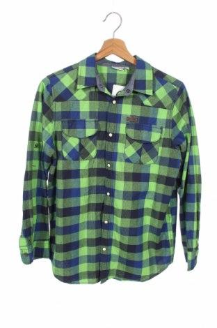 Παιδικό πουκάμισο Stop+Go, Μέγεθος 15-18y/ 170-176 εκ., Χρώμα Πράσινο, Βαμβάκι, Τιμή 9,25€