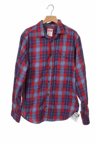 Παιδικό πουκάμισο Wrangler, Μέγεθος 15-18y/ 170-176 εκ., Χρώμα Πολύχρωμο, 60% βαμβάκι, 40% πολυεστέρας, Τιμή 16,05€