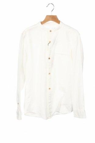 Dziecięca koszula Zara, Rozmiar 11-12y/ 152-158 cm, Kolor Biały, Bawełna, Cena 76,00zł