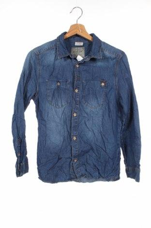 Παιδικό πουκάμισο Zara, Μέγεθος 12-13y/ 158-164 εκ., Χρώμα Μπλέ, Βαμβάκι, Τιμή 11,11€