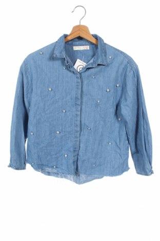 Παιδικό πουκάμισο Zara, Μέγεθος 10-11y/ 146-152 εκ., Χρώμα Μπλέ, Βαμβάκι, Τιμή 10,49€