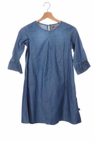 Dziecięca sukienka Creamie, Rozmiar 8-9y/ 134-140 cm, Kolor Niebieski, Poliester, Cena 129,38zł