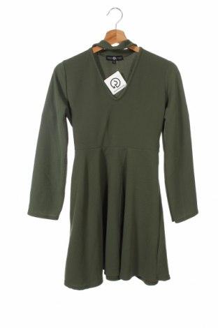 Dziecięca sukienka Daisy Street, Rozmiar 9-10y/ 140-146 cm, Kolor Zielony, 95% poliester, 5% elastyna, Cena 74,10zł