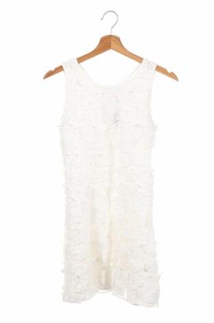 Dziecięca sukienka Derhy, Rozmiar 12-13y/ 158-164 cm, Kolor Biały, Poliester, Cena 166,88zł