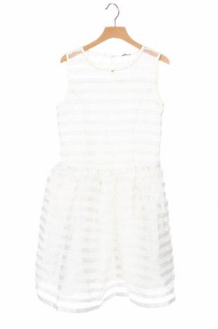 Παιδικό φόρεμα Guess, Μέγεθος 10-11y/ 146-152 εκ., Χρώμα Λευκό, 94% πολυεστέρας, 4% ελαστάνη, Τιμή 32,48€