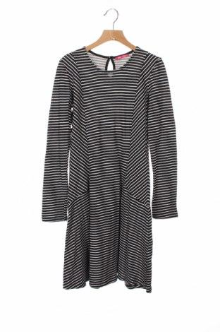 Dziecięca sukienka Yd, Rozmiar 11-12y/ 152-158 cm, Kolor Czarny, 76% bawełna, 24% poliester, Cena 68,40zł