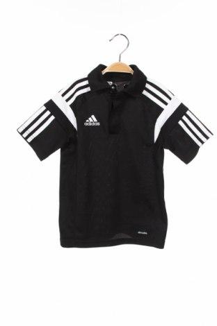 Παιδικό μπλουζάκι Adidas, Μέγεθος 4-5y/ 110-116 εκ., Χρώμα Μαύρο, Πολυεστέρας, Τιμή 12,53€