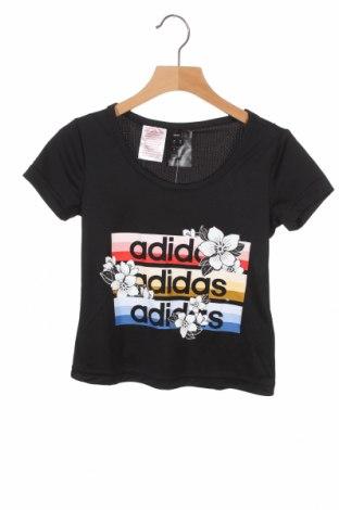 Παιδικό μπλουζάκι Adidas, Μέγεθος 4-5y/ 110-116 εκ., Χρώμα Μαύρο, Πολυεστέρας, Τιμή 18,95€