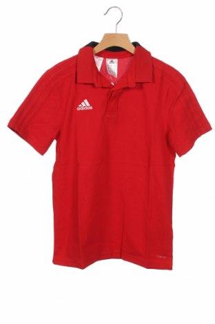 Παιδικό μπλουζάκι Adidas, Μέγεθος 10-11y/ 146-152 εκ., Χρώμα Κόκκινο, 70% βαμβάκι, 30% πολυεστέρας, Τιμή 18,95€