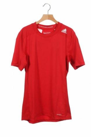 Παιδικό μπλουζάκι Adidas, Μέγεθος 15-18y/ 170-176 εκ., Χρώμα Κόκκινο, 88% πολυεστέρας, 12% ελαστάνη, Τιμή 18,95€