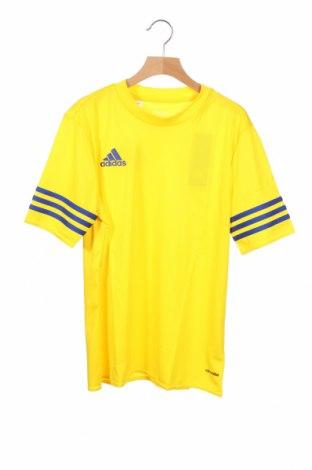 Παιδικό μπλουζάκι Adidas, Μέγεθος 12-13y/ 158-164 εκ., Χρώμα Κίτρινο, Πολυεστέρας, Τιμή 18,95€