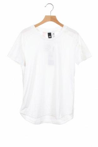 Παιδικό μπλουζάκι Adidas, Μέγεθος 10-11y/ 146-152 εκ., Χρώμα Λευκό, Πολυεστέρας, Τιμή 18,95€