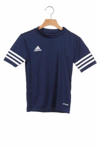 Παιδικό μπλουζάκι Adidas, Μέγεθος 6-7y/ 122-128 εκ., Χρώμα Μπλέ, Πολυεστέρας, Τιμή 18,95€
