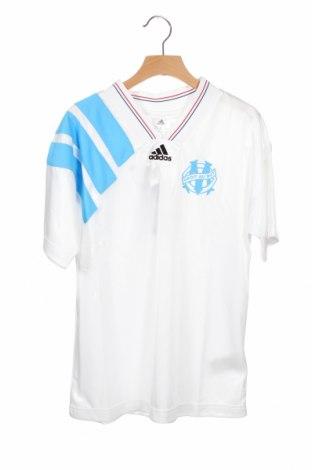 Dziecięcy T-shirt Adidas, Rozmiar 10-11y/ 146-152 cm, Kolor Biały, Poliester, Cena 91,88zł