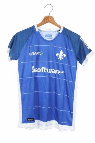 Dziecięcy T-shirt Craft, Rozmiar 12-13y/ 158-164 cm, Kolor Niebieski, Poliester, Cena 60,00zł