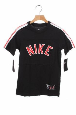 Παιδικό μπλουζάκι Nike, Μέγεθος 7-8y/ 128-134 εκ., Χρώμα Μαύρο, Βαμβάκι, Τιμή 18,95€