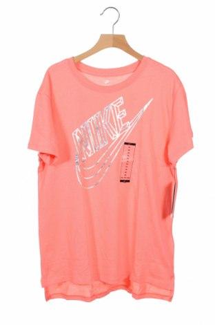 Παιδικό μπλουζάκι Nike, Μέγεθος 12-13y/ 158-164 εκ., Χρώμα Ρόζ , Βαμβάκι, Τιμή 18,95€